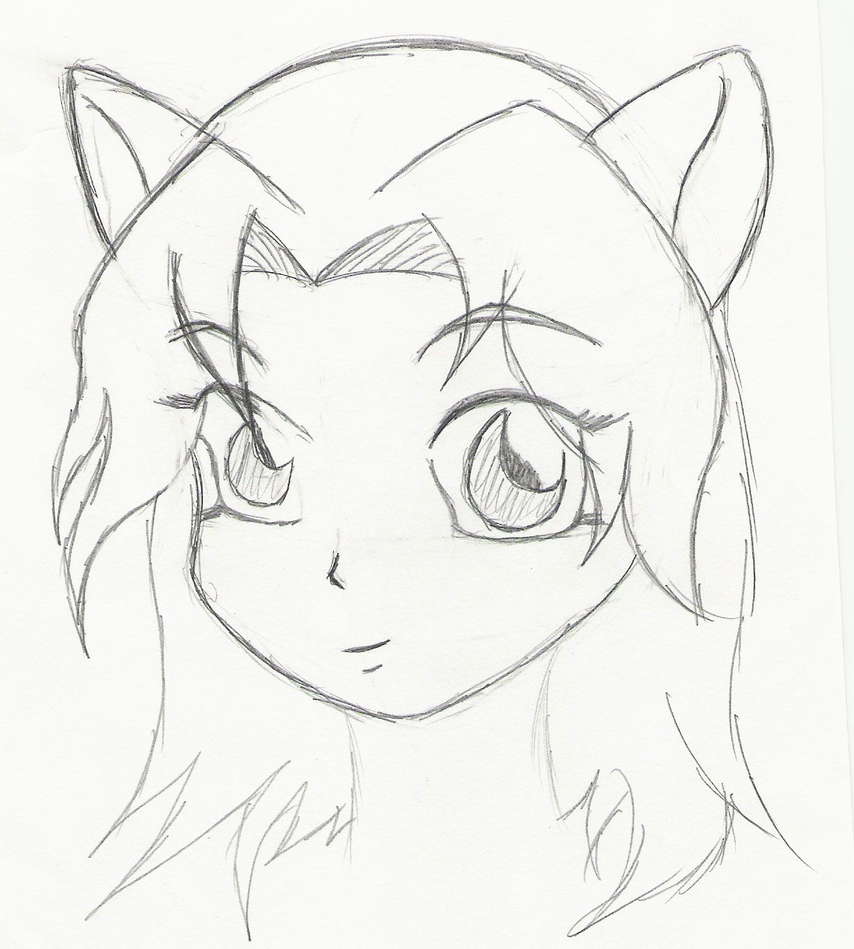 Anime Girl And Boy Drawing Easy Anime Sketch Of A Girl And Boy Boy