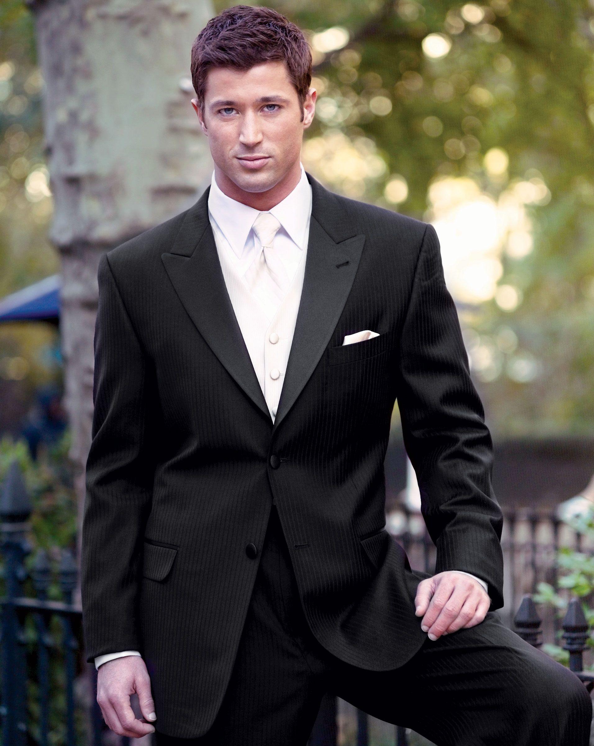 Designer Wedding Tuxedos | Joseph-Abboud-Tribeca-Peak-White-Vest ...