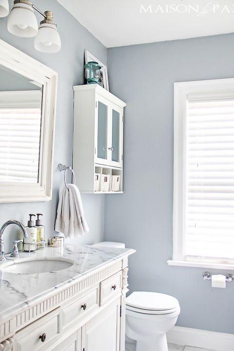 Small Bathroom, Small Bathroom Paint Colors 2021