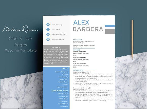 modern  u0026 creative resume template  creativework247