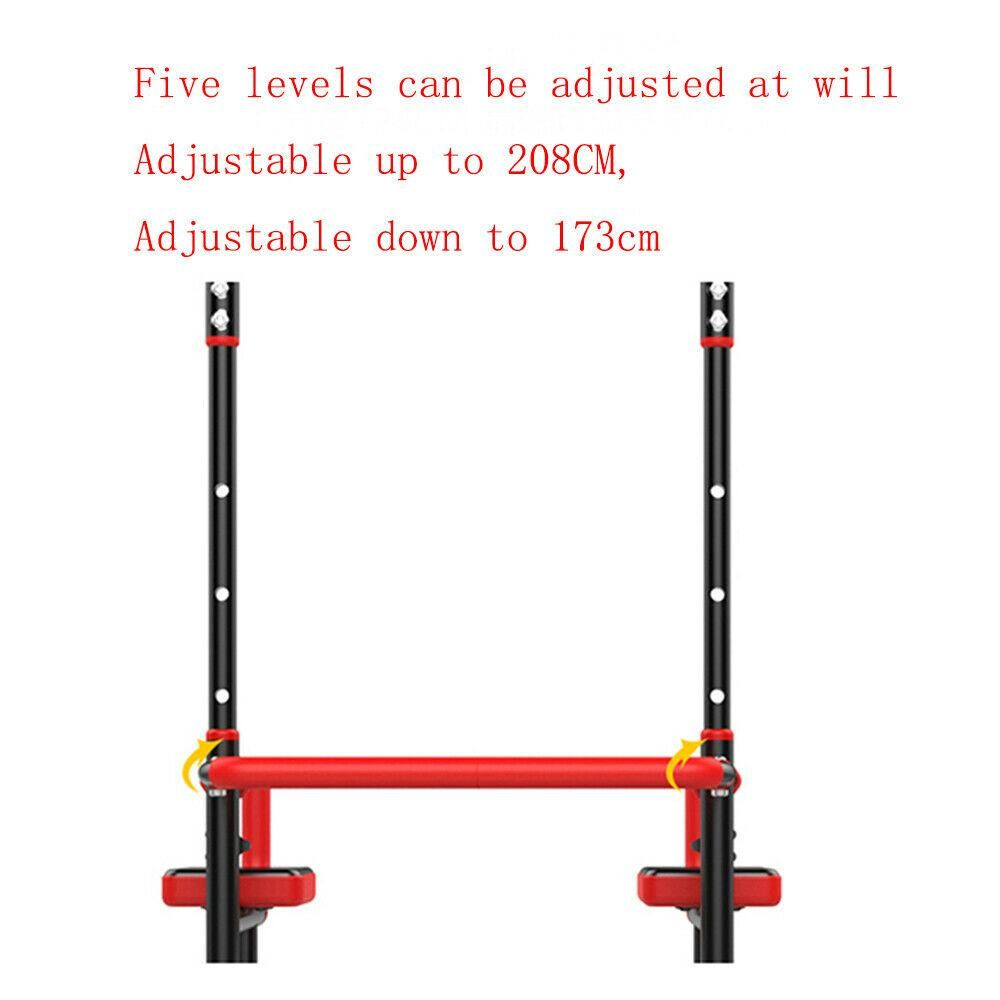Home Gym Pull Up Bar Dip Station Exercise Equipment
