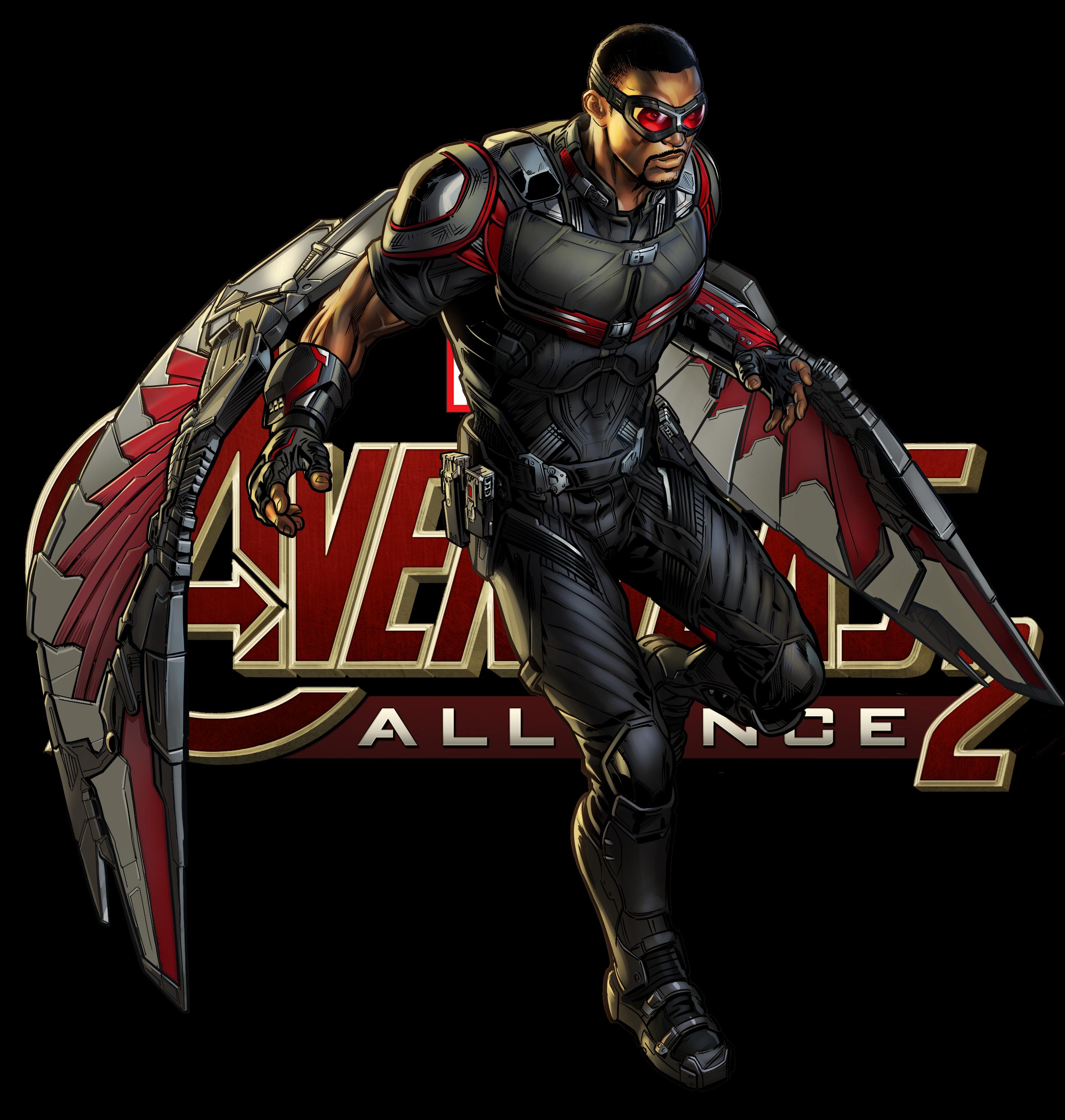 Latest 2813 2960 marvel hero statues marvel marvel - Faucon avengers ...