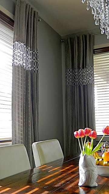 Mount Curtains Just Below The Ceiling To Make The Ceiling Height