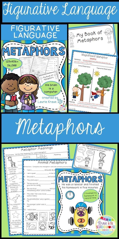 Metaphors Engaging Activities To Teach Figurative Language