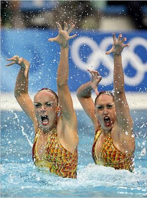 Choreograph A Synchronized Swimming Routine Check Natation Synchronisee Natation