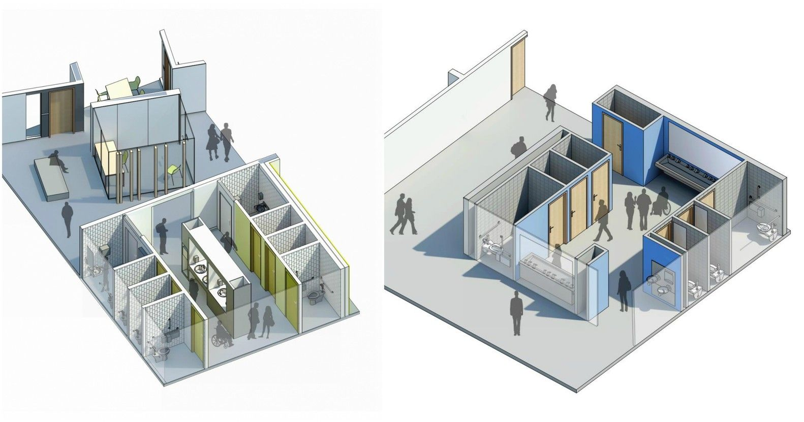 Gallery Of How To Design School Restrooms For Increased Comfort Safety And Gender Inclusivity 1 Restroom Design Neutral Bathrooms Designs Gender Neutral Bathrooms