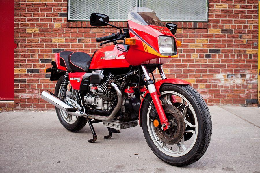 Moto Guzzi Lemans III  Photo by @Ryanhandt / Ryanhandt.com