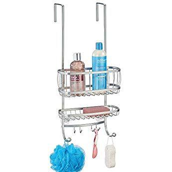 mdesign duschablage zum h ngen ber die duscht r. Black Bedroom Furniture Sets. Home Design Ideas