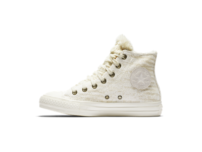 Converse Chuck Taylor All Star Winter Knit and Faux Fur High