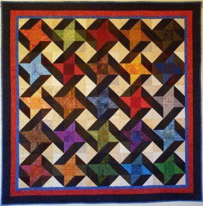 Big Block Big Quilt - Entwined using 5 Inch Squares   Quilt Idea ... : 5 inch quilt block patterns - Adamdwight.com