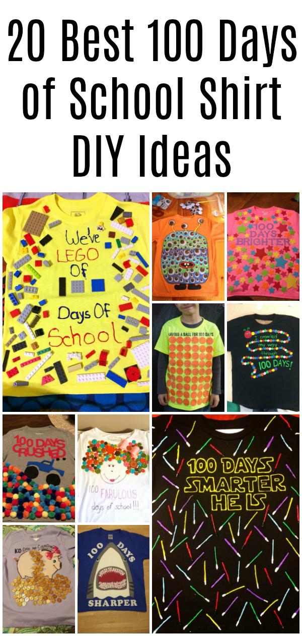Best 100 Days of School Shirt Ideas