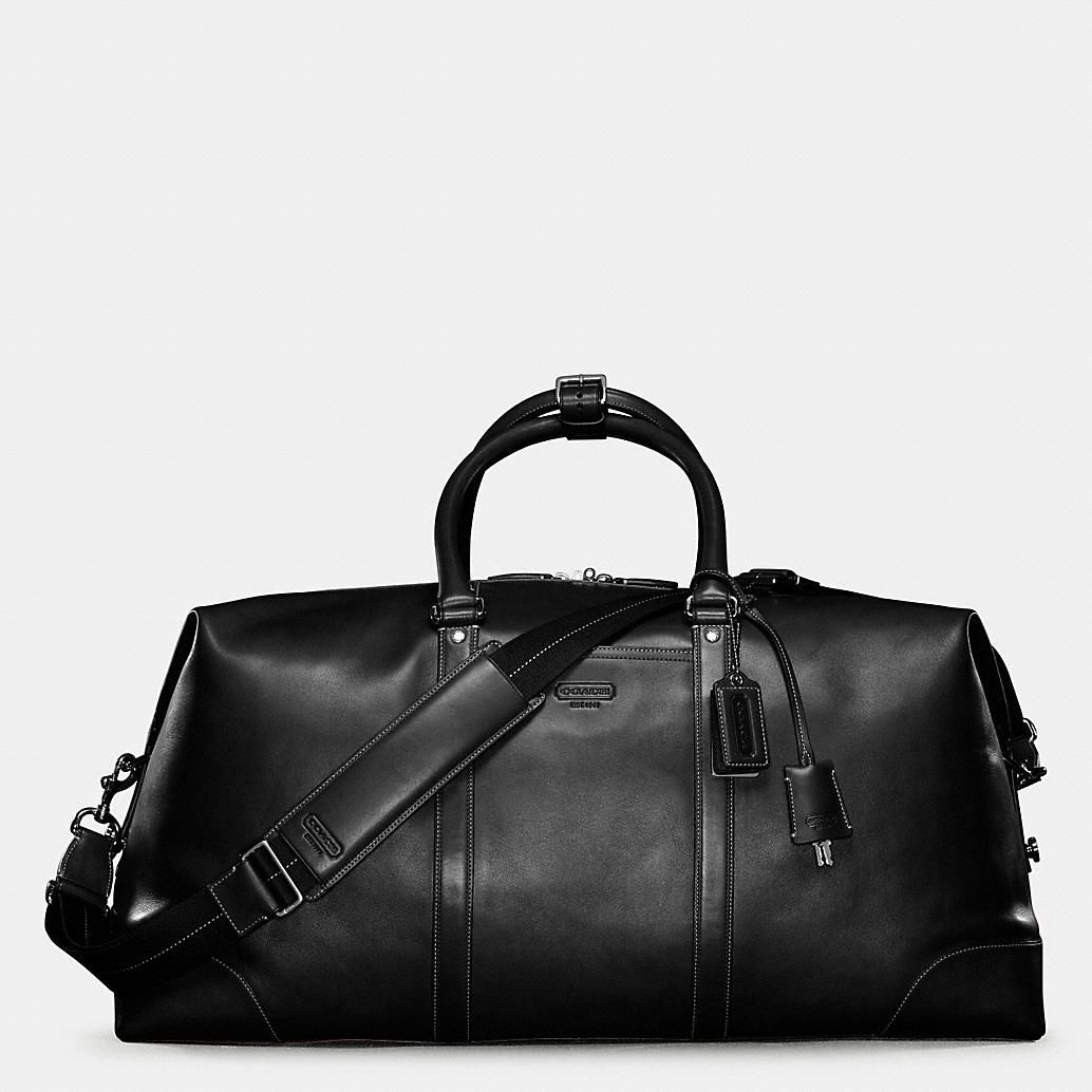 0fa5f436c7 ... Tote Duffle Bag For  factory authentic b9950 798ec Bag · Transatlantic  Travel Carryon in Leather  best service 29980 068d4 Coach mens ...