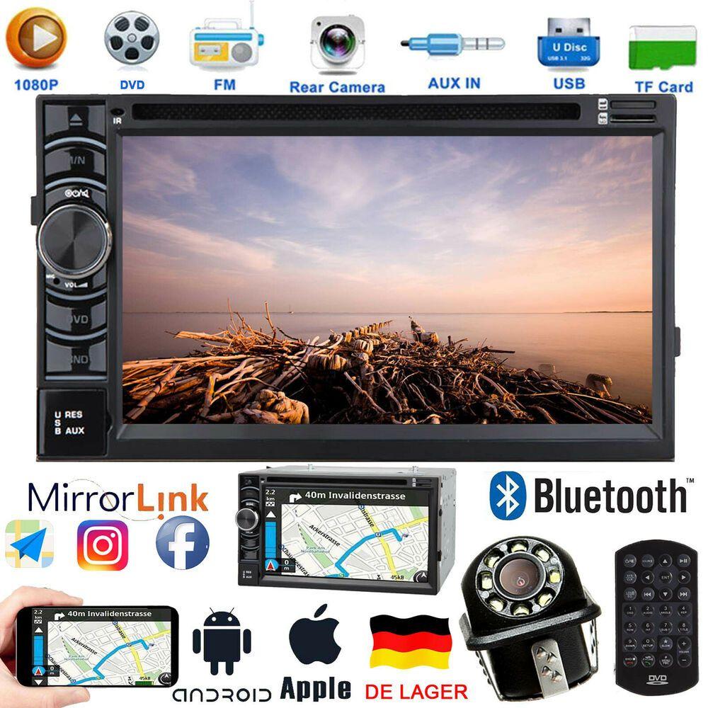 Ebay Angebote Mp3 Dvd 2din Bluetooth Autoradio Usb Cd Kamera Fur