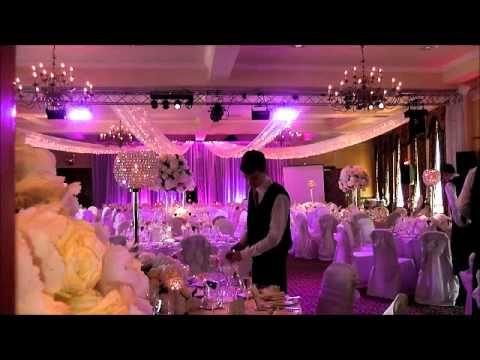 Wedding Decor and Ideas Ivory and Purple Wedding at Norwood Hall ...