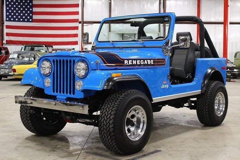 1976 Jeep Cj7 For Sale 1907520 Hemmings Motor News Cylindre
