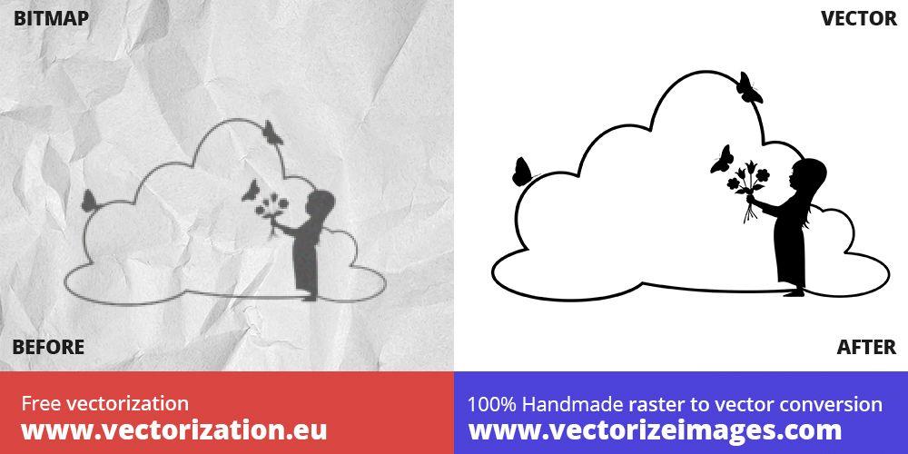 unterschrift vektorisieren vektorgrafik erstellen online werkzeug vektor