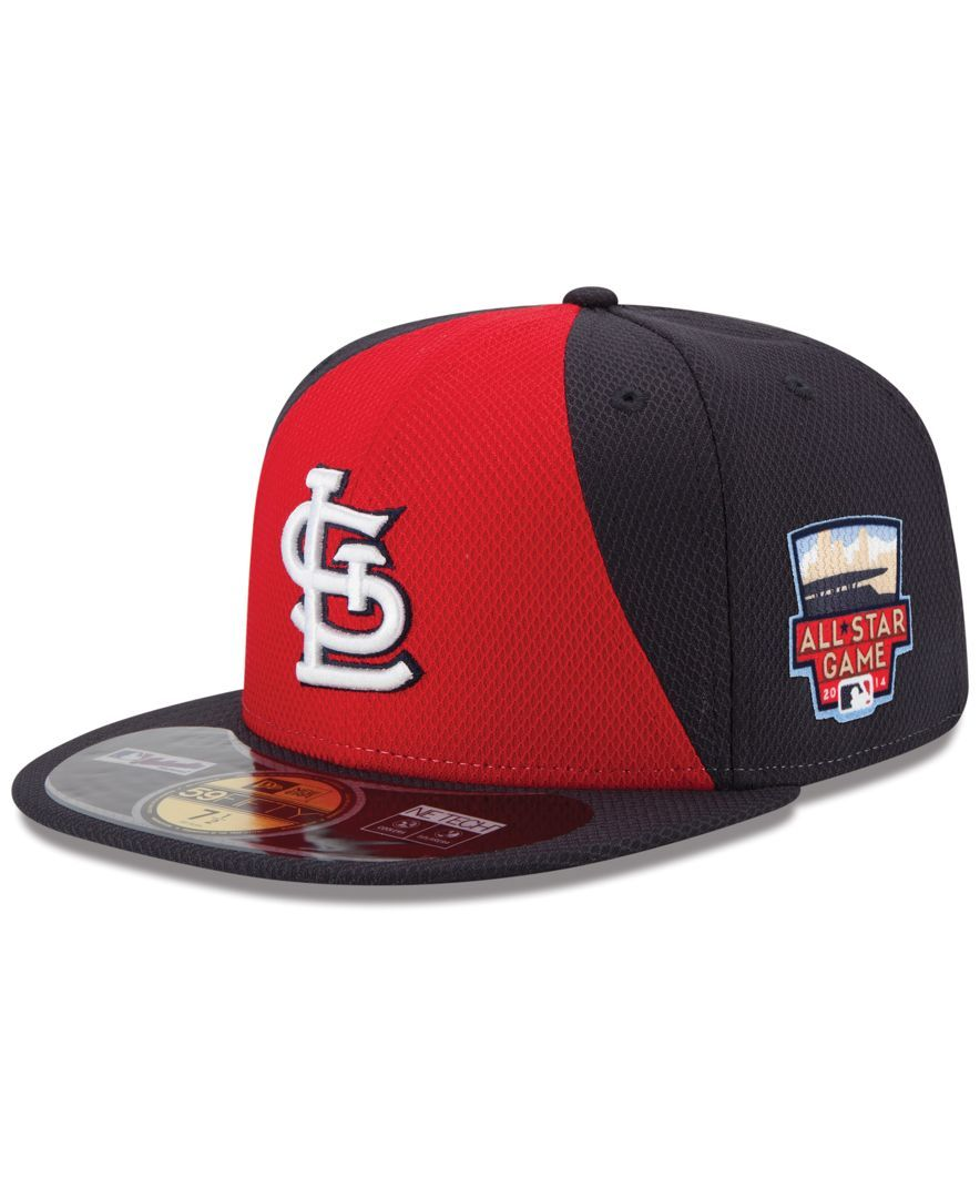 new style c75ab 79be9 New Era St. Louis Cardinals 2014 All Star Game Patch 59FIFTY Cap