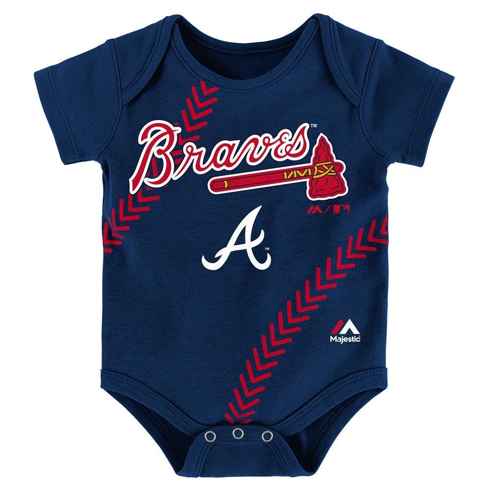Braves Baby Home Run Creeper Atlanta Braves Baby Sf Giants Baby Sport Fitness