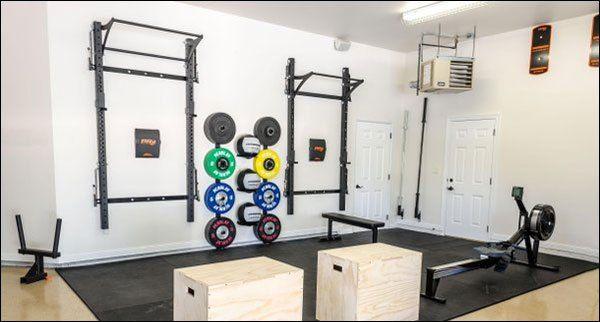 Guide to wall mounted folding racks garage gyms