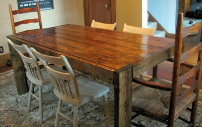 Build your own Farmhouse Table   Flimsy Pi   DIY Projects ...
