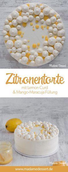 Fruchtige Zitronentorte mit Lemon Curd | Madame Dessert