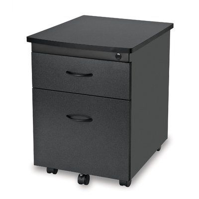 Ofm Modular Mobile Pedestal 2 Drawer File Box Cabinet Finish