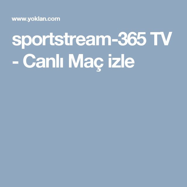 Warriors Live Stream Free Hd: Sportstream-365 TV - Canlı Maç Izle
