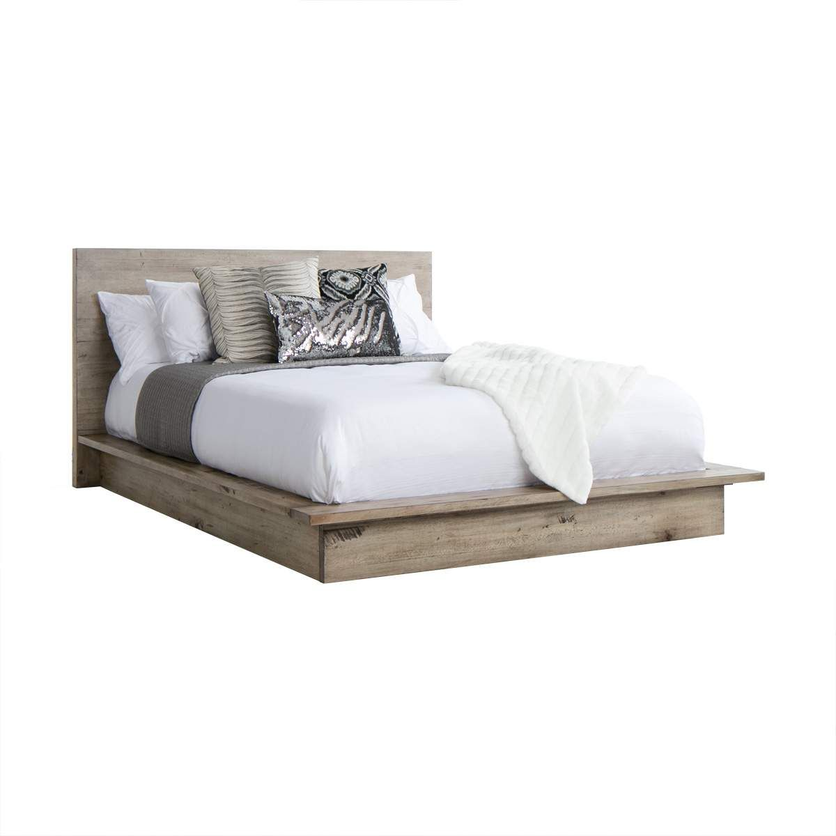 Midtown Cal King Bedding Contemporary Bed Platform Bed