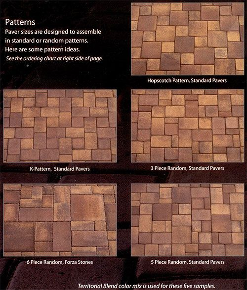 Related Image In 2019 Paver Patterns Patio Color Mixing