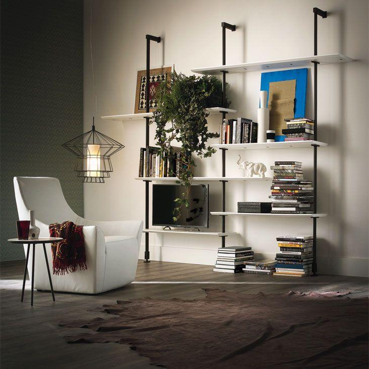 Libreria a parete componibile AIRPORT by Cattelan Italia | design ...