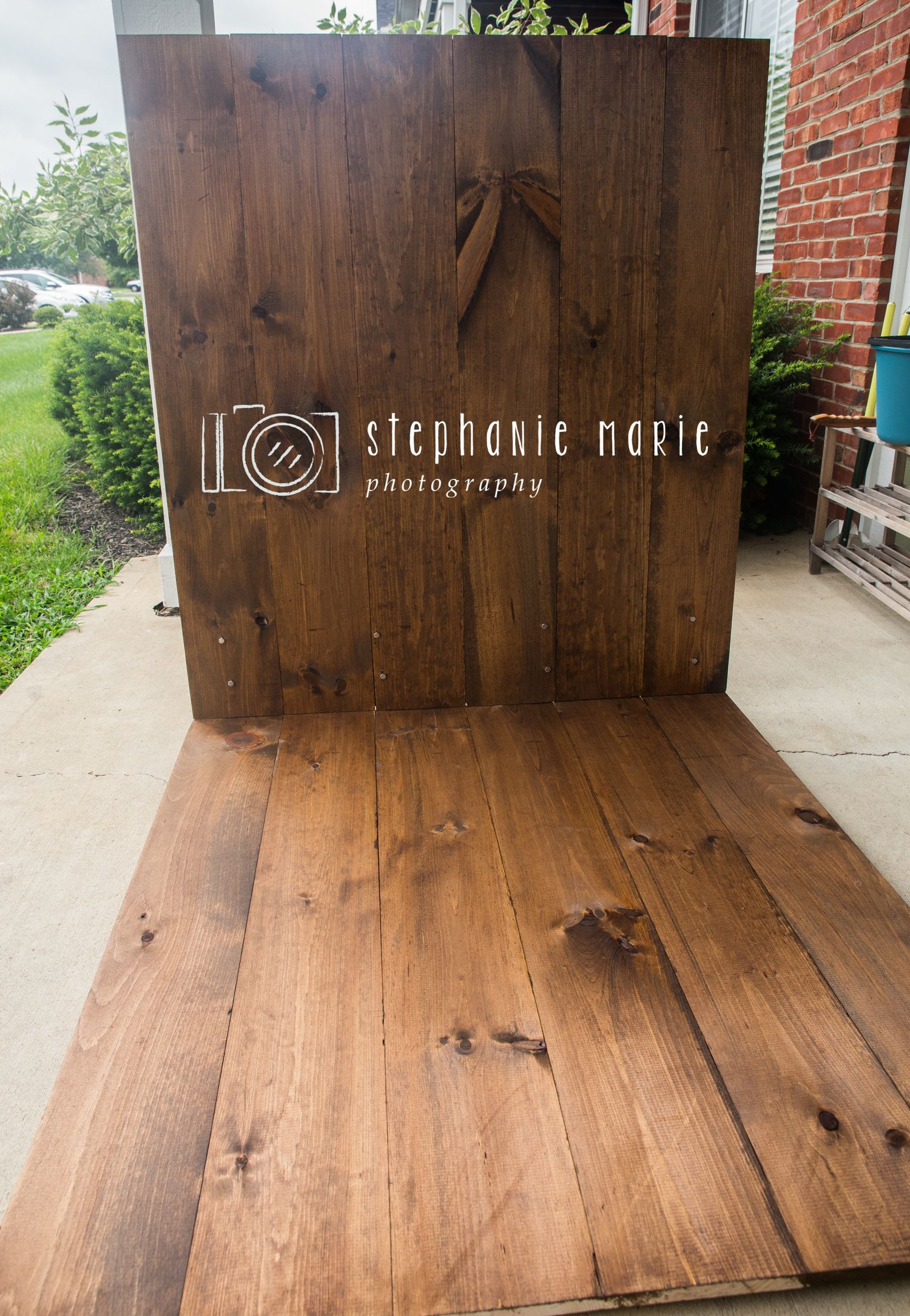 Diy Faux Hardwood Wall Amp Floor Photography Faux Wood