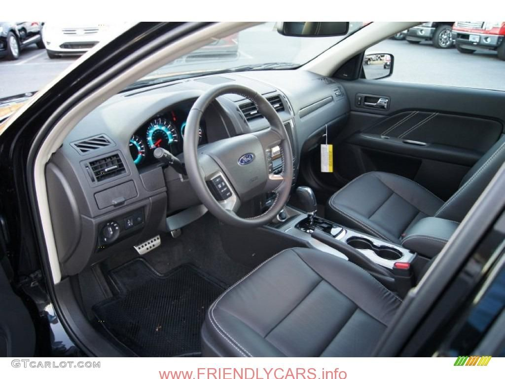 Cool 2012 Ford Fusion Sport Interior Car Images Hd Charcoal Black