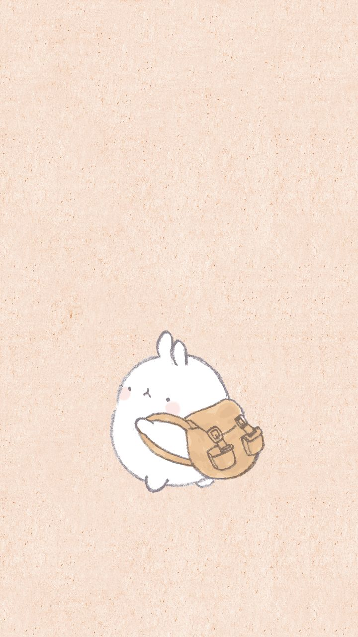 Molang Imma Run Away Xd Cute Wallpapers Cute Cartoon Wallpapers Molang Wallpaper