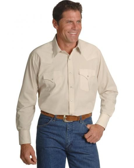 Ely Solid Classic Western Shirt - Custom Fit, Neck & Sleeve Sizing