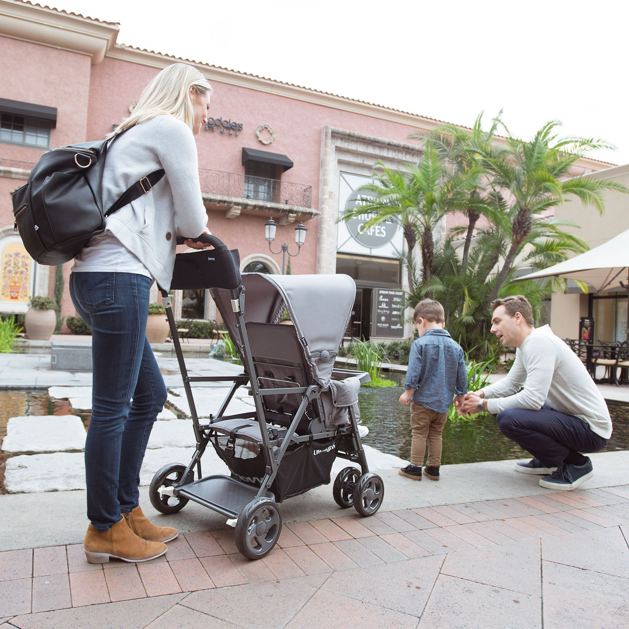 Joovy Caboose Ultralight Graphite Stroller Black Read