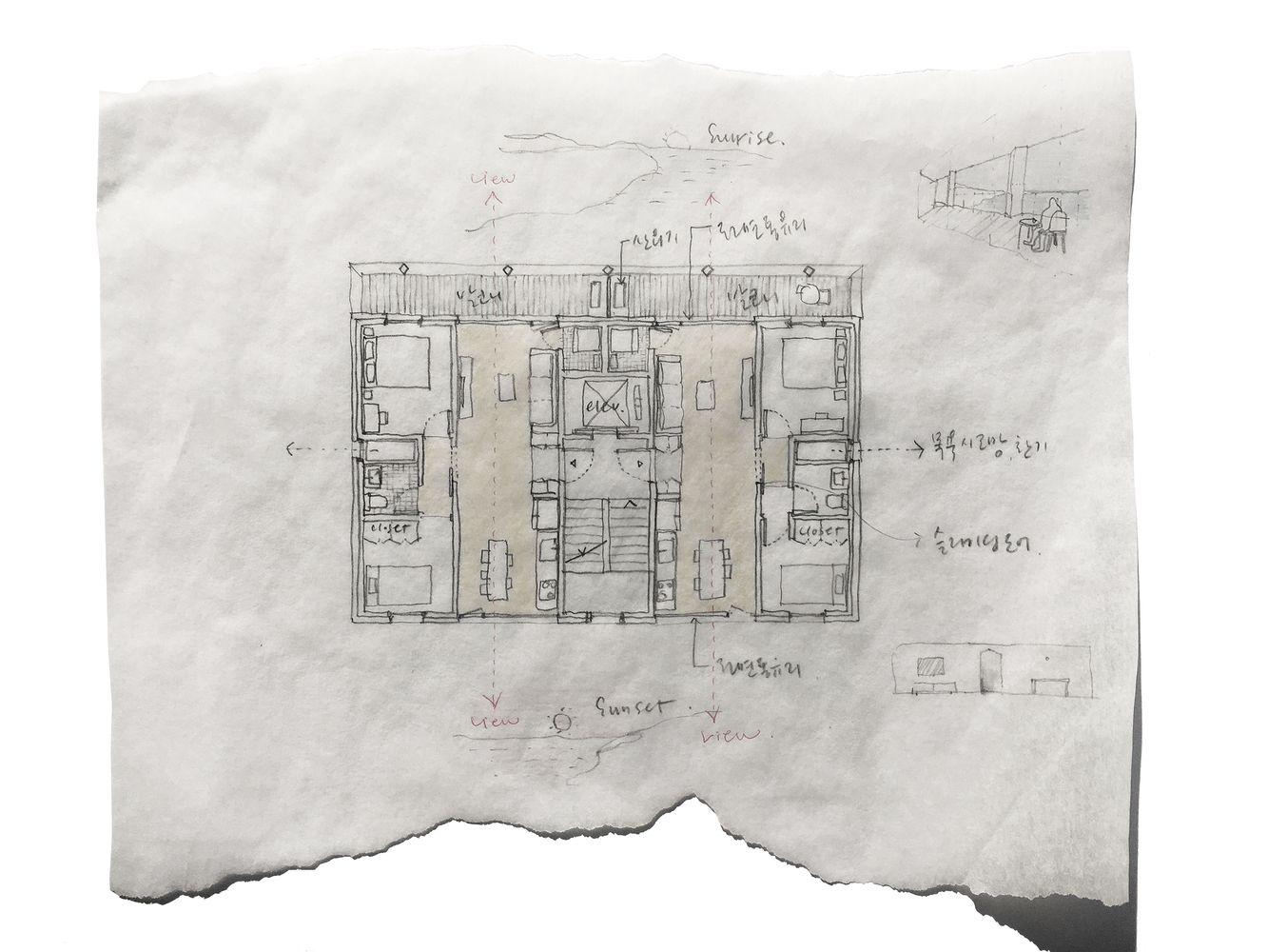 medium resolution of gallery of villa jeju aoa architects 35 architects villa mansion building