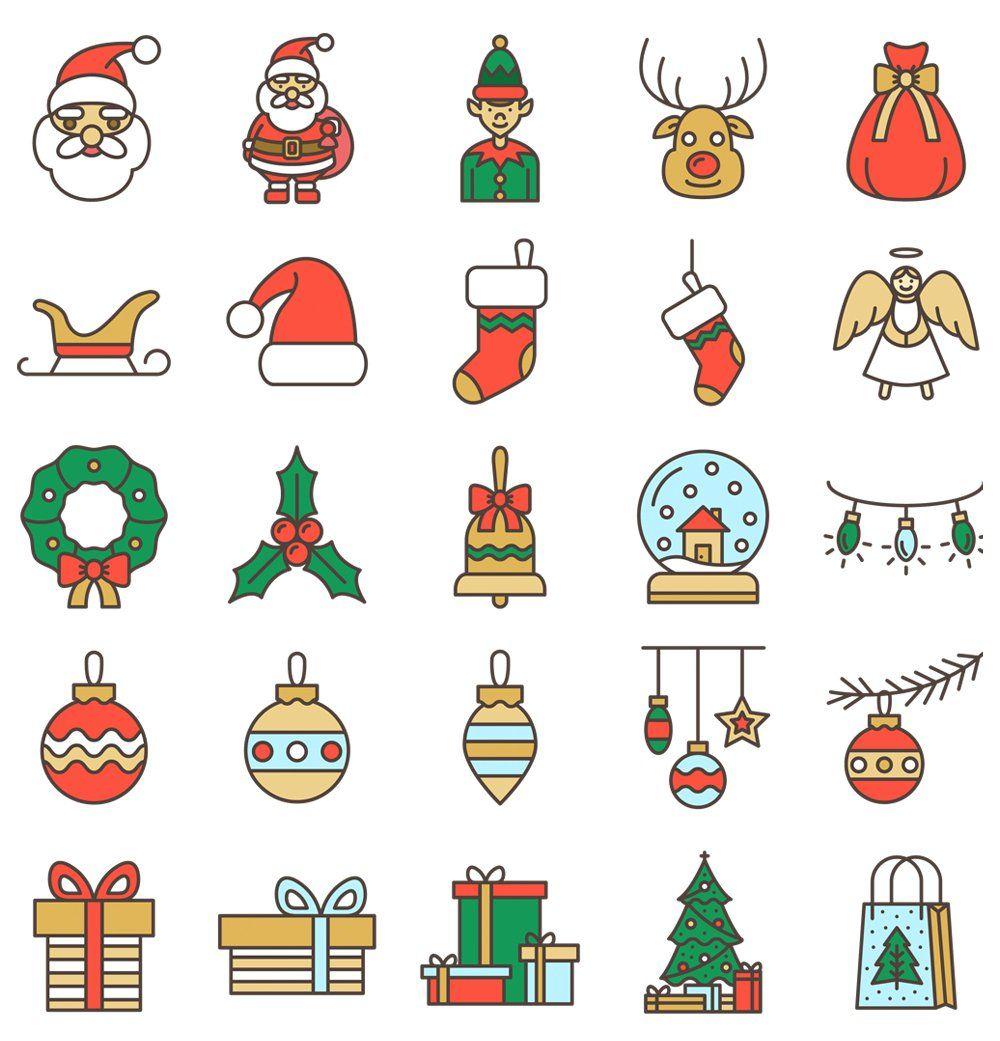 Free Christmas Icons #userinterface