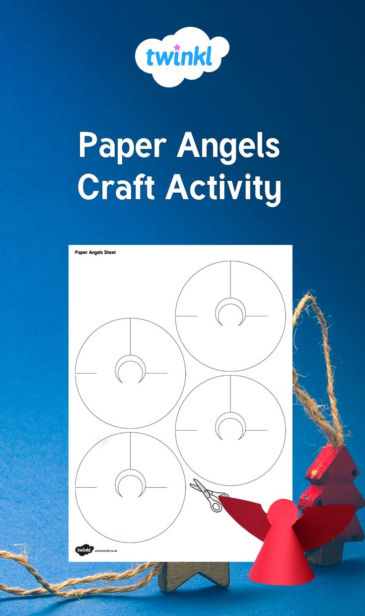 Get creative with these fantastic paper craft christmas angels get creative with these fantastic paper craft christmas angels simply cut and fold to create a paper angels which are perfect for your classroom d jeuxipadfo Images