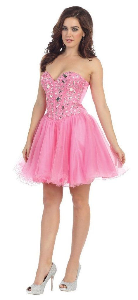 Short Homecoming Sequins Formal Prom Cocktail Dress - The Dress ...