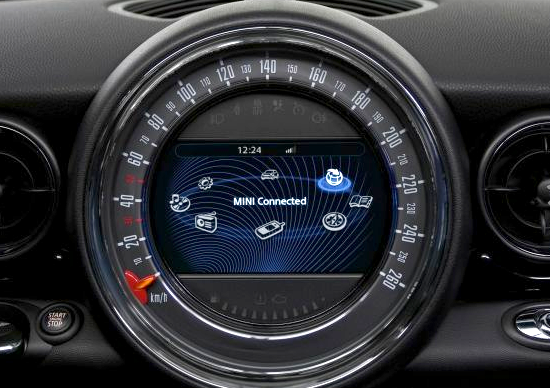 Speedometer in BMW's Mini Cooper  (Source: BMW) | UX/UI