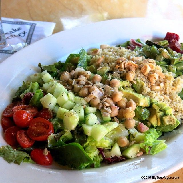 Have You Heard That The Cheesecake Factory Has Added A Vegan Cobb Salad Loaded With Be Vegan Restaurant Options Cheesecake Factory Vegan Pasta Recipes For Kids