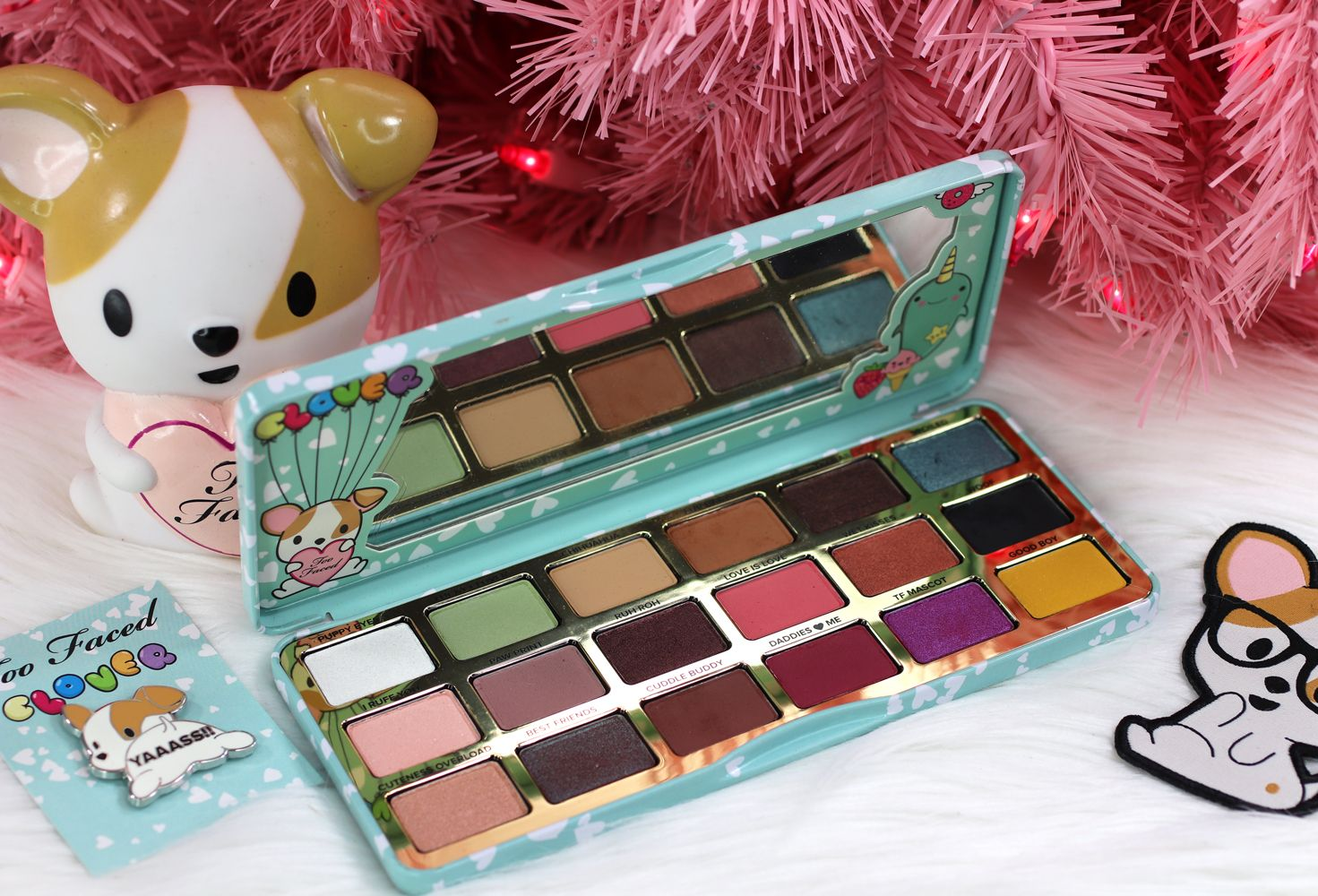 Too Faced Clover Palette Review and Swatches Holiday
