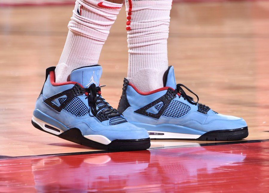 14d4328e017 PJ Tucker in Travis Scott's Air Jordan 4