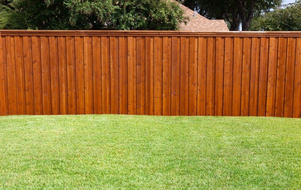 Staining A Deck Or Fence With An Airless Sprayer Semi Transparent Wood Fence Cost Wood Fence Design Backyard Fences