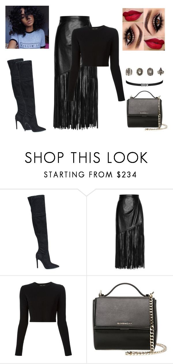 """""""16.06"""" by gabriel-sampaiooo on Polyvore featuring Kendall + Kylie, Tamara Mellon, Proenza Schouler, Givenchy and Relic"""