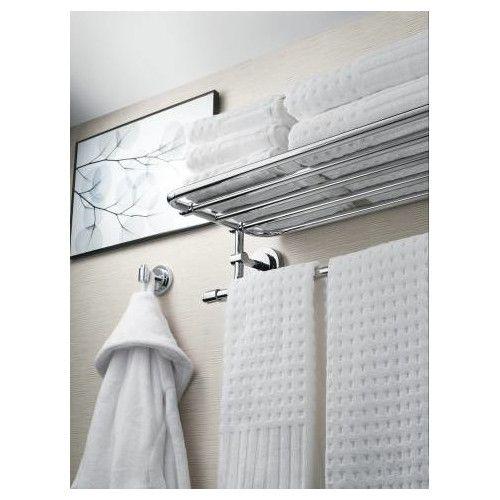 Iso Wall Shelf Towel Rack Bathroom Storage Small Bathroom Storage