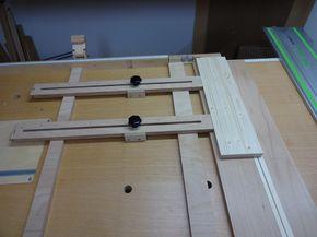 l ngsanschlag f r handkreiss ge bauanleitung zum selber bauen holzwerkstatt workshop tools. Black Bedroom Furniture Sets. Home Design Ideas