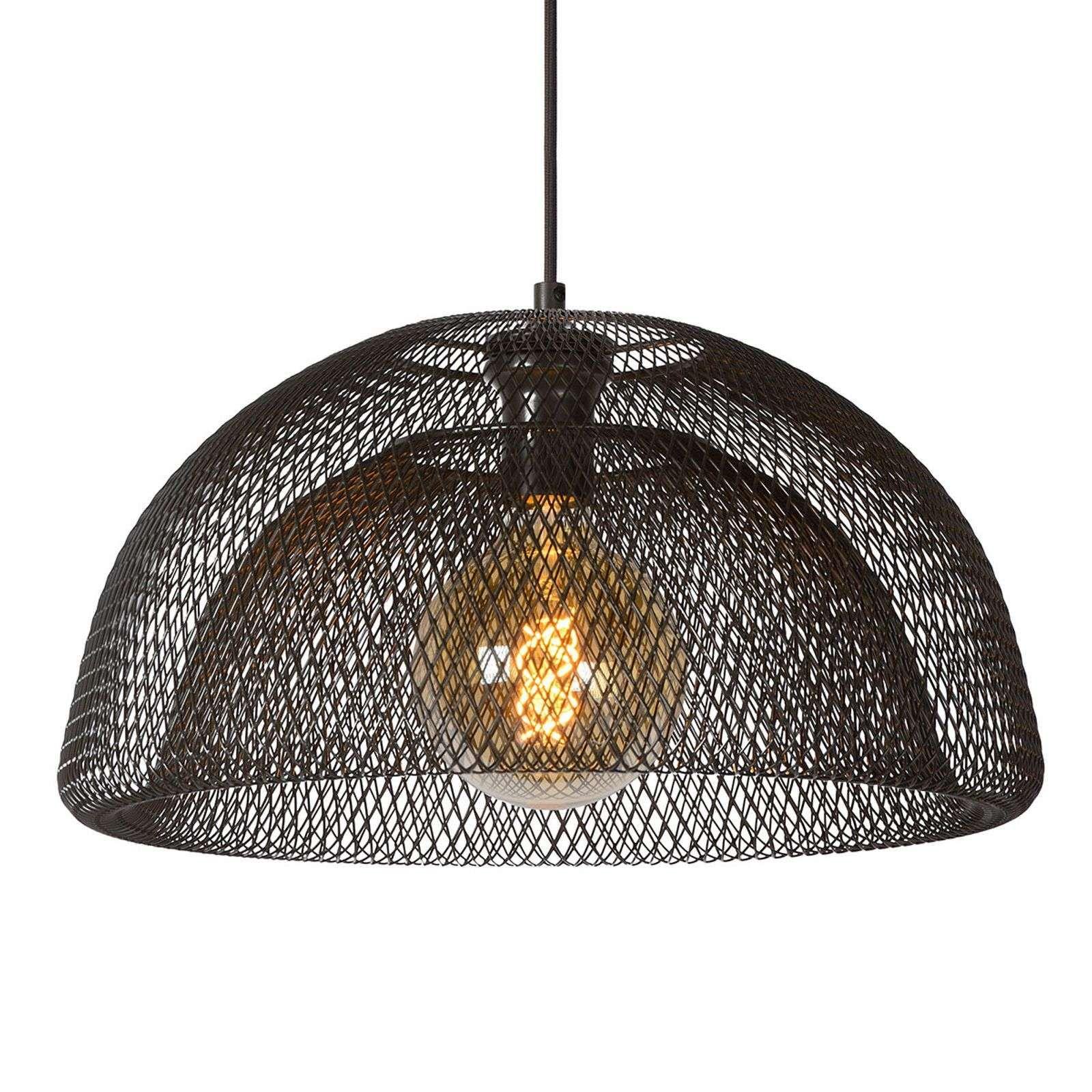 Design Pendel Leuchte Decken Hänge Lampe Wohnraum Geflecht Big Light