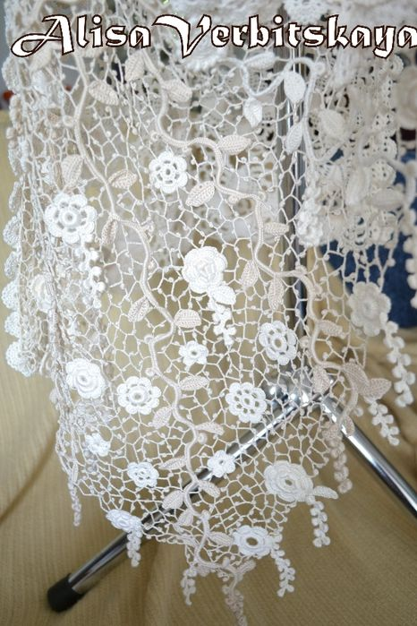 Irish crochet lace | De lana e hilos | Pinterest | Tejido, Ganchillo ...