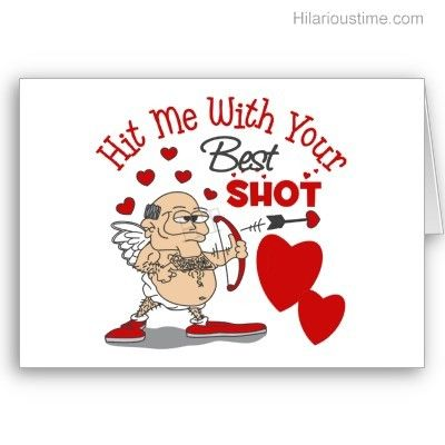 Picture Valentines Day Cupid Funny  Funny oldman cupid